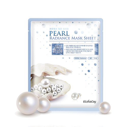 [Elishacoy] PEARL RADIANCE MASK SHEETパールラディエンスマスクシート