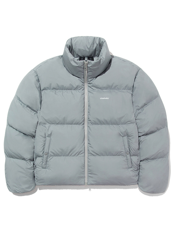 GOOSE DOWN LIGHTWEIGHT PARKA JA [GREY]