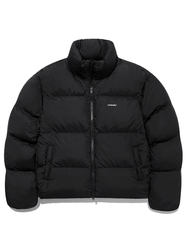 GOOSE DOWN LIGHTWEIGHT PARKA JA [BLACK]