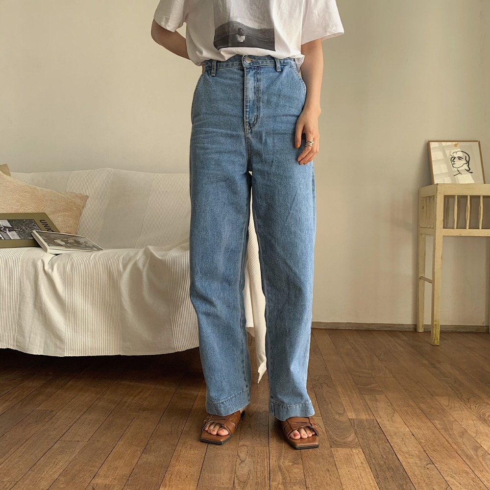 《予約販売》stitch jeans/2colors