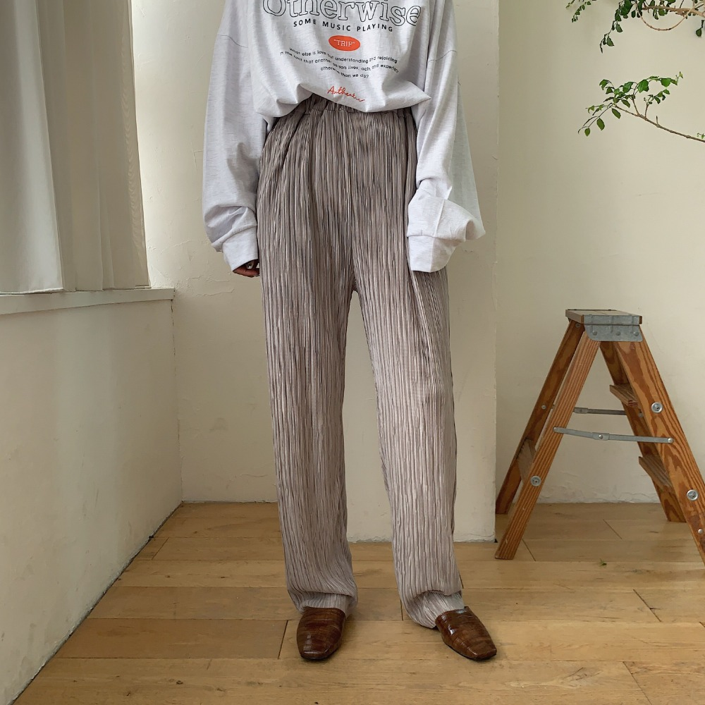 《予約販売》glossy daily rincl pants/2colors