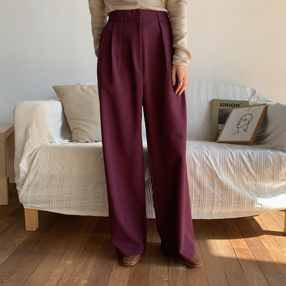 《予約販売》belt roop pants/2colors