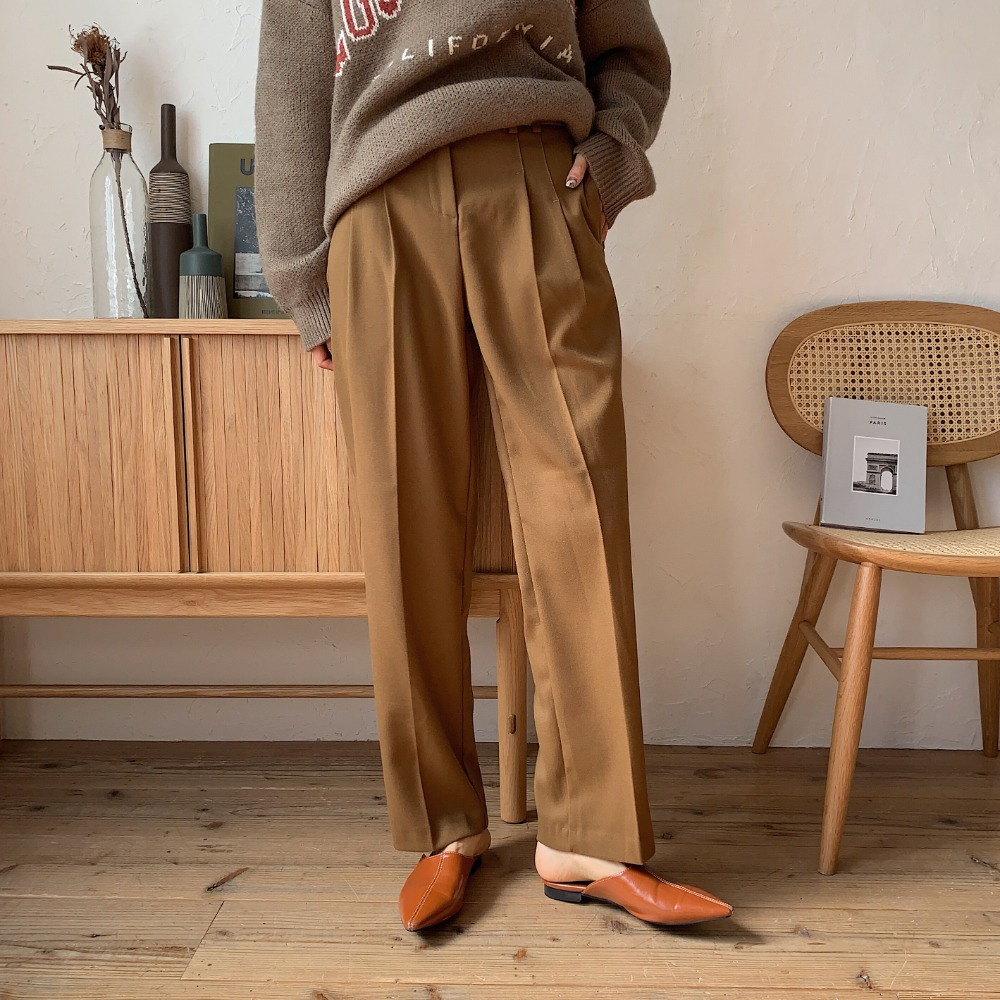 《予約販売》stitch slacks pants