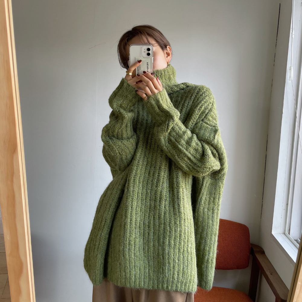 《予約販売》warm volume knit/3colors