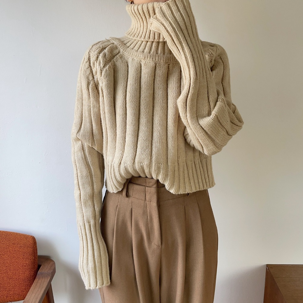 《予約販売》minimal lady lib knit/2colors
