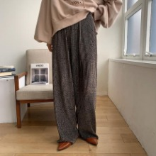 《予約販売》velvet unique pattern pants/2colors