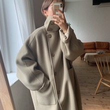 限定先行販売 【nokcha original】HAND MADE 4way over long coat/khaki beige