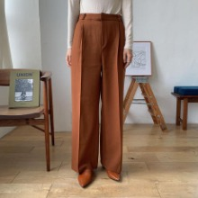 《予約販売》a/w twill quality pants/2colors