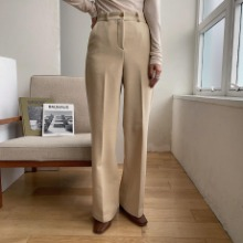 《予約販売》texture straight warm pants/2colors