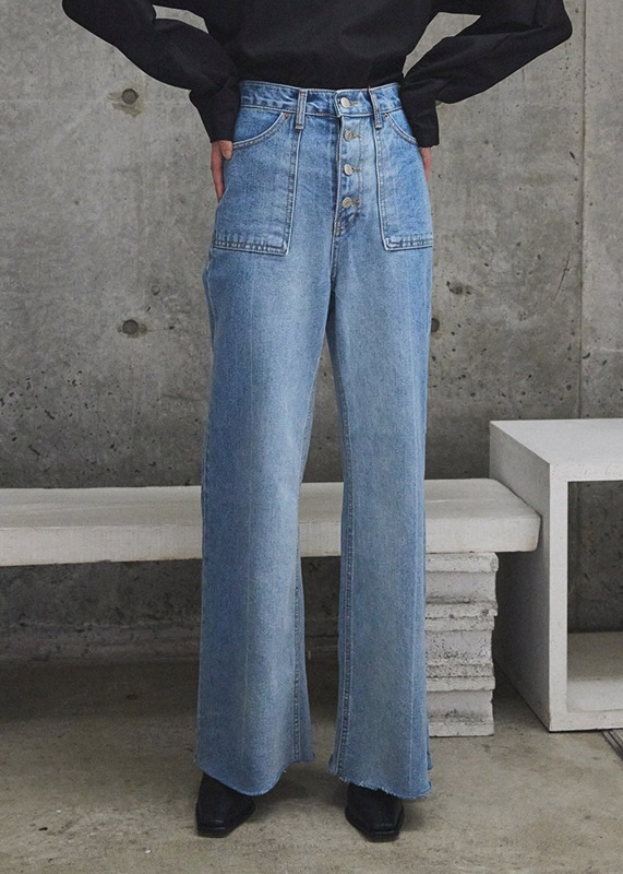 More Slim denim(wide fit)