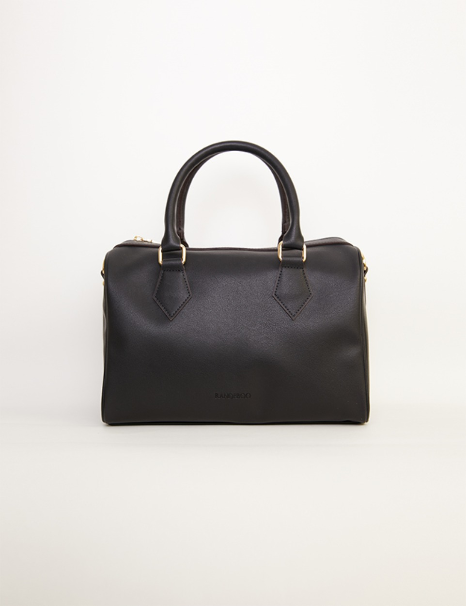 【PRE】RB boston bag (black)