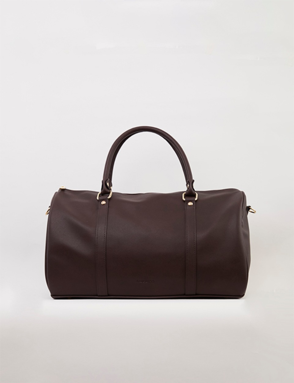 RB smart boston bag (dark brown)