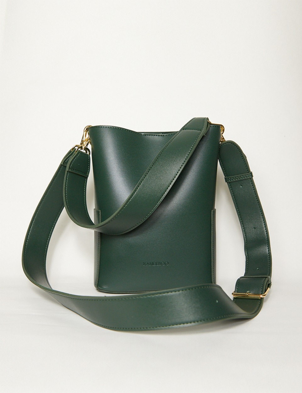 RB petit bucket bag (deep teal green)