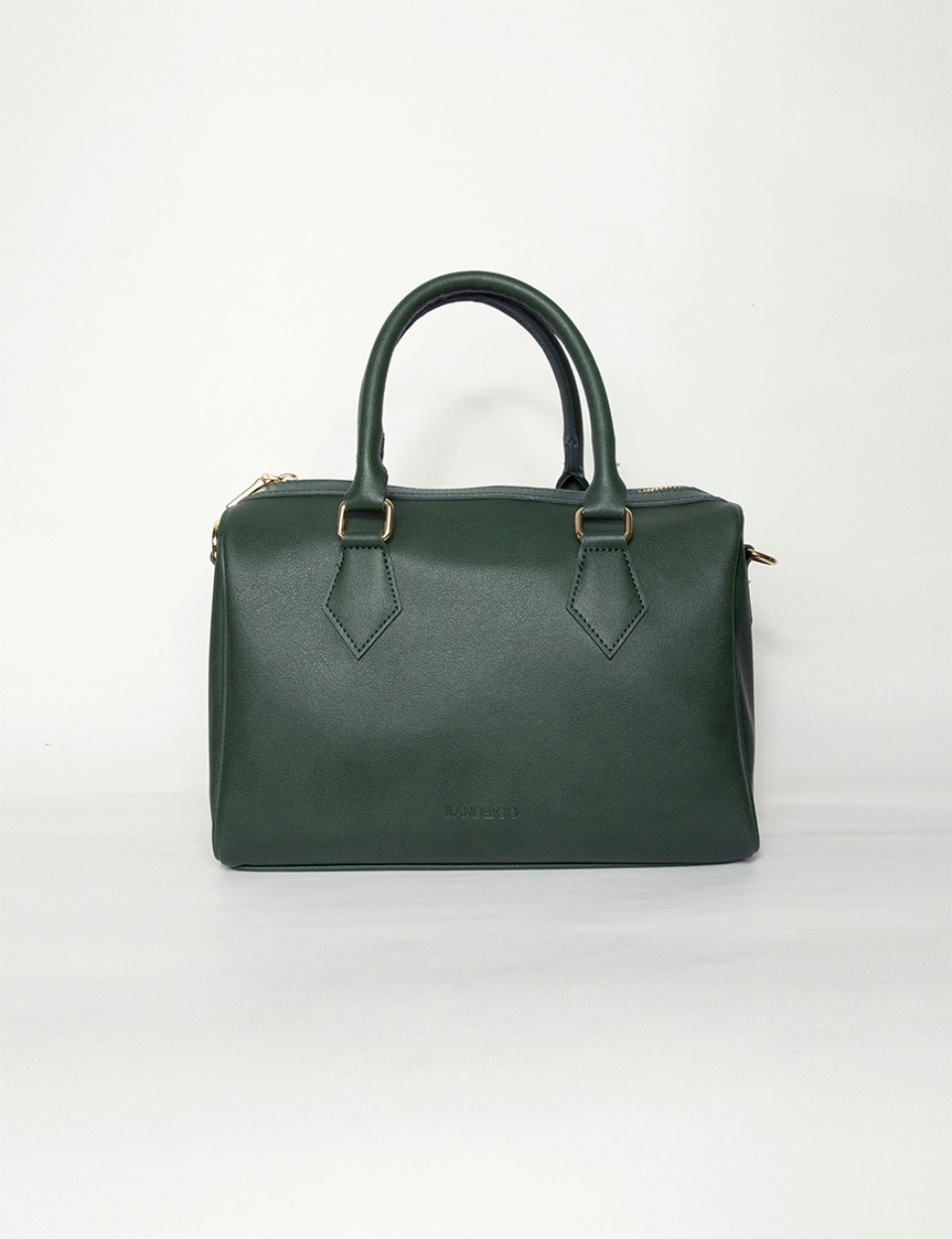 【PRE】RB boston bag (deep teal green)