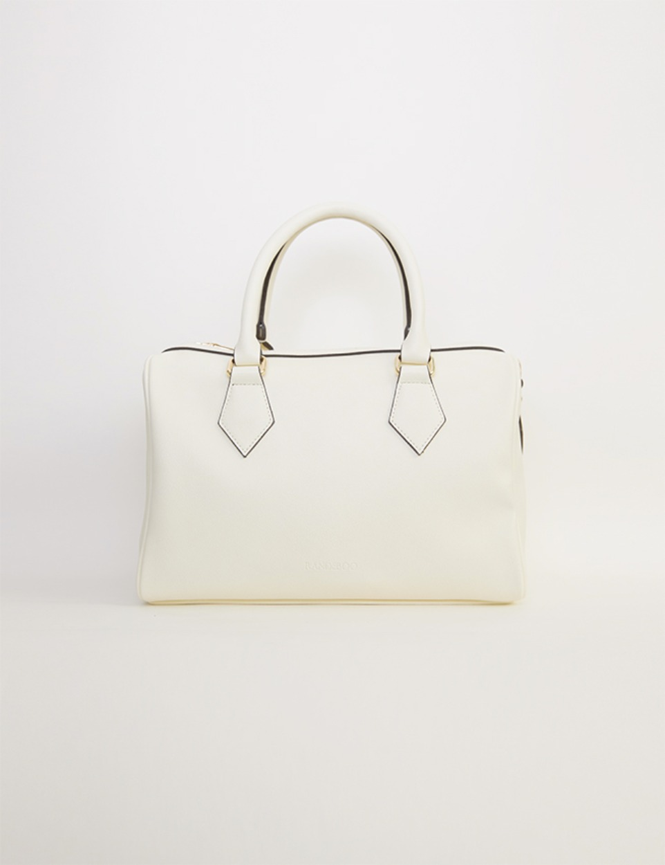 【PRE】RB boston bag (ivory)