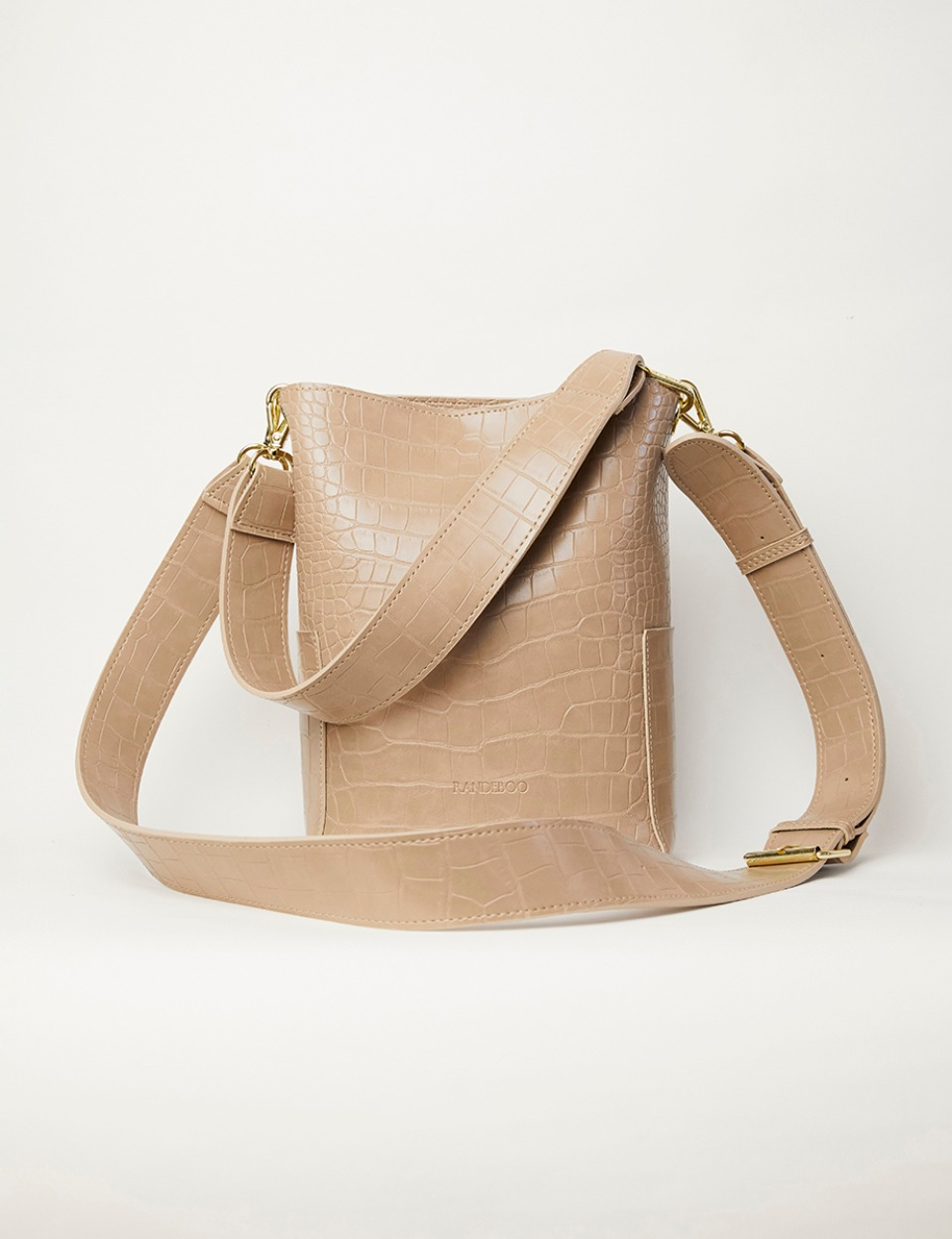 【PRE】RB croco bucket bag (beige)