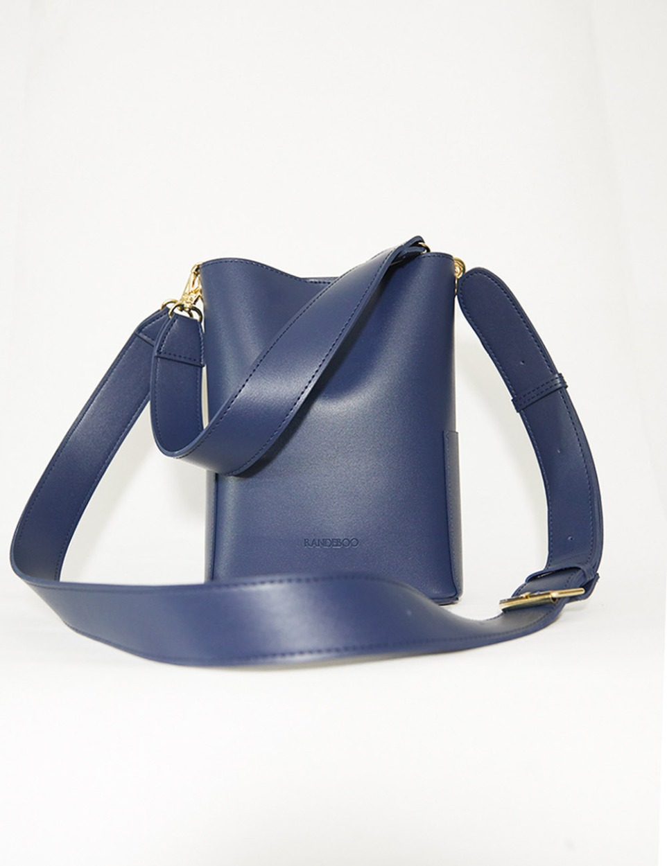 【PRE】RB petit bucket bag (navy)