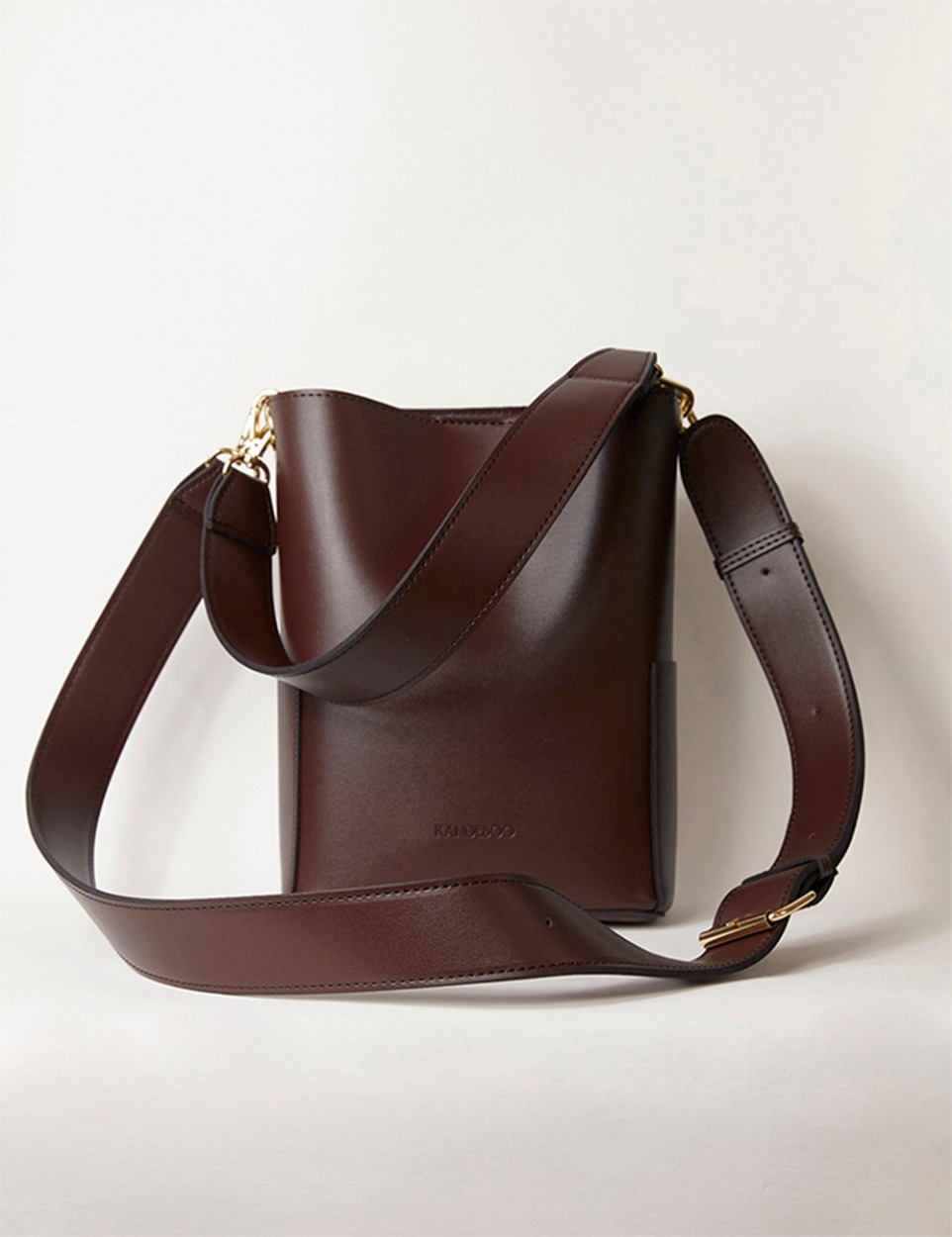 RB petit bucket bag(dark brown)