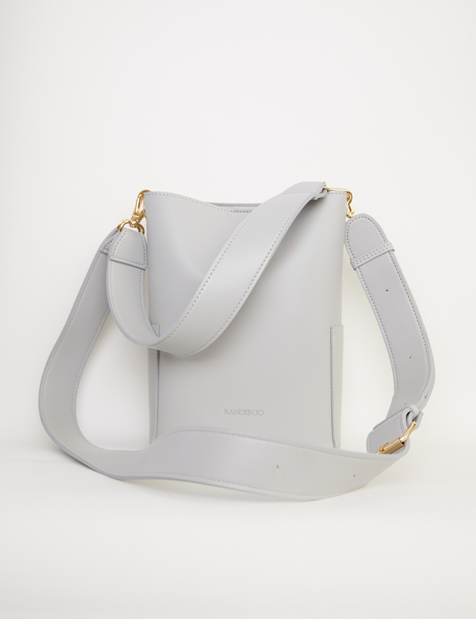【PRE】RB petit bucket bag(light gray)