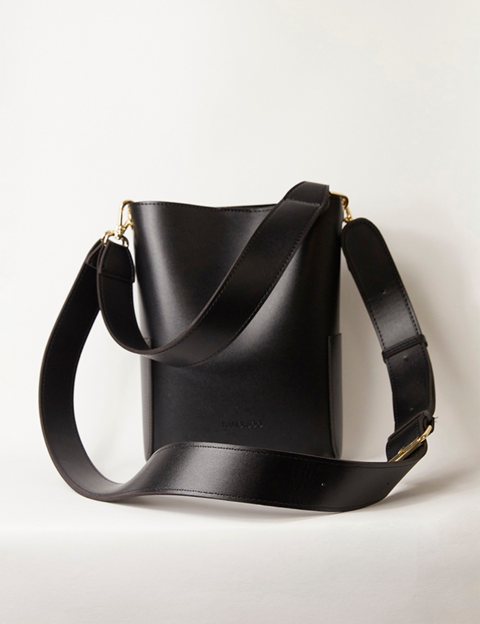 RB petit bucket bag(black)