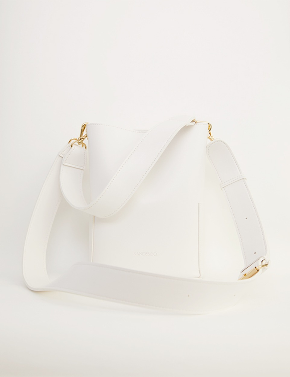 RB petit bucket bag(white)