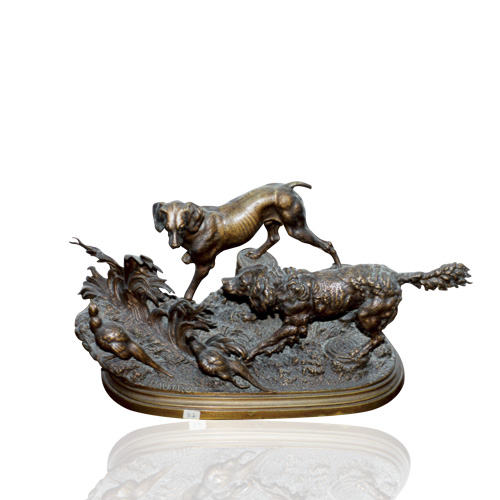 Bronze Dogs No.04
