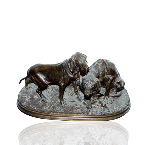 Bronze Dogs No.03