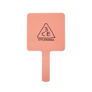 [3CE] MOOD RECIPE SQUARE HAND MIRROR ROSE BEIGE