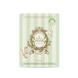[a;t fox] Green Tea Balancing Mask