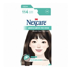 [3M] Nexcare Blemish Clear Cover Lite 114
