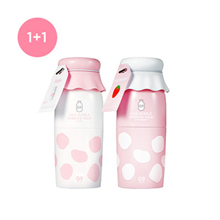[G9SKIN] MILK BUBBLE ESSENCE PACKミルクバブルエッセンスパック2個セット
