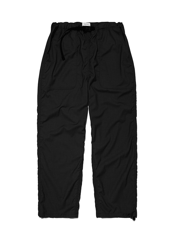 BELTED TRACK PANTS IS [BLACK]
