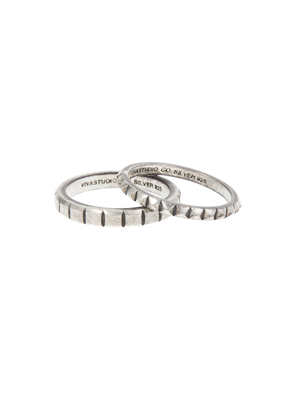 LAYERED RING JA [SILVER]