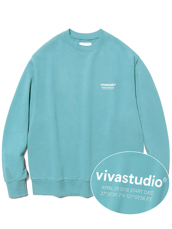 LOCATION CREWNECK JA [EMERALD GREEN]