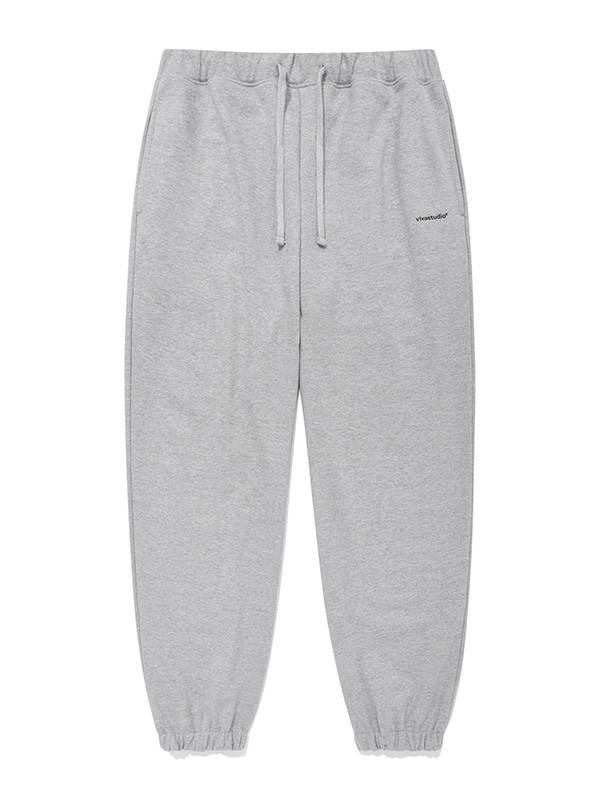 SIMPLE SWEAT PANTS [GREY]
