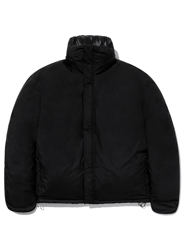 GOOSE DOWN REVERSIBLE PARKA JA [BLACK]