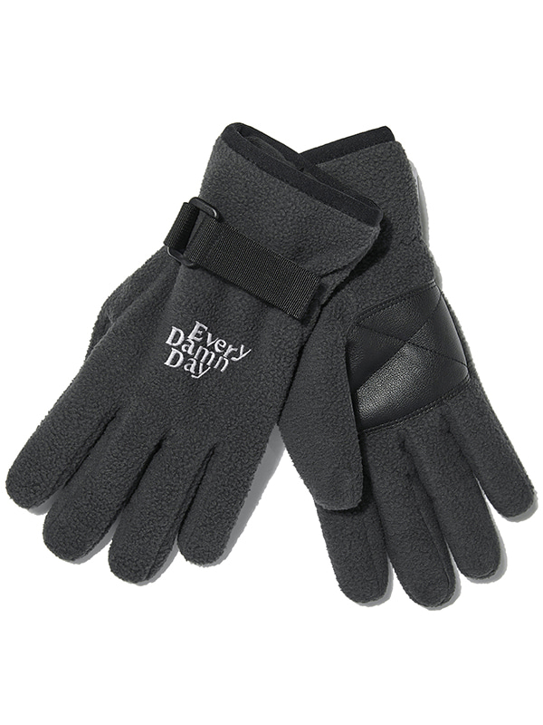 KOMPAKT FLEECE GLOVE JA [BLACK]