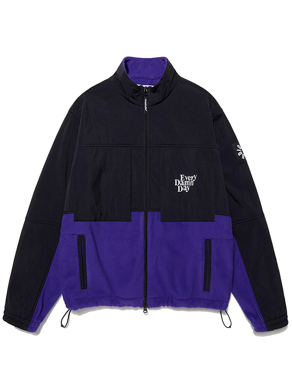 KOMPAKT FLEECE JACKET JA [PURPLE]