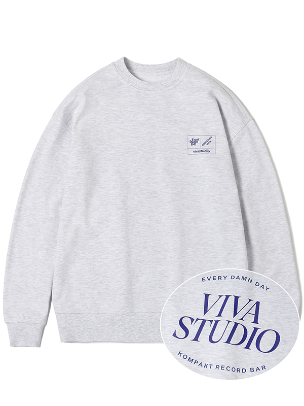 KOMPAKT BASIC CREWNECK JA [GREY]
