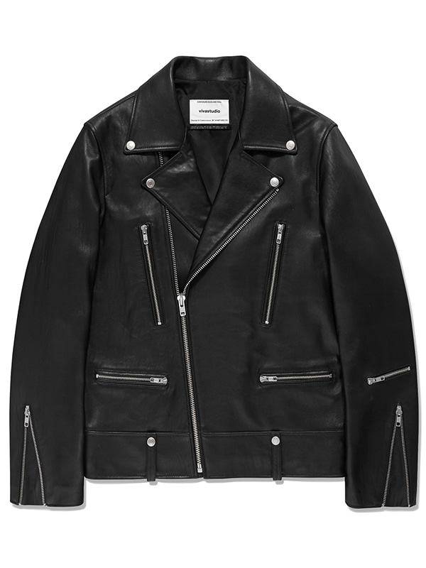 TERRY RIDERS JACKET KS [BLACK]