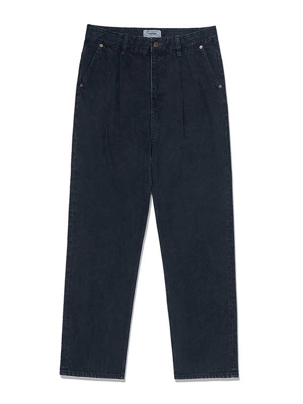 TWO TUCK JEANS KS [INDIGO BLUE]