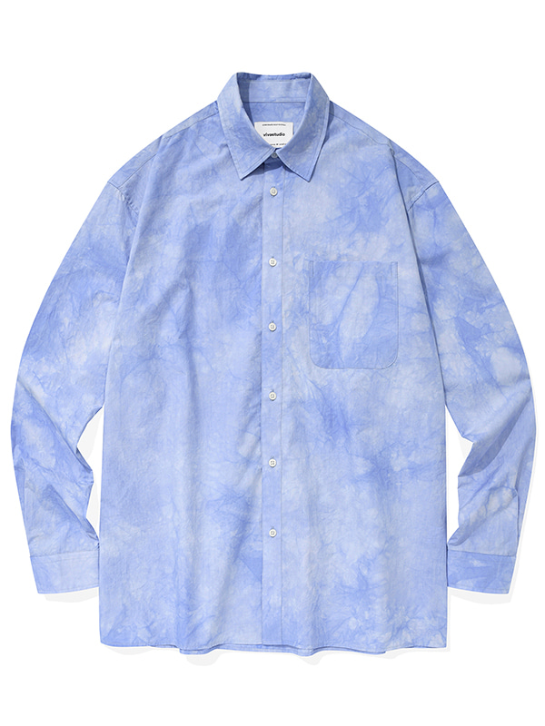 DYEING SHIRTS KS [BLUE]