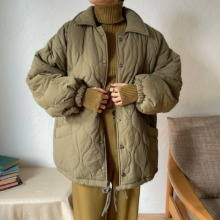 《予約販売》 quilting over boa jacket/2colors